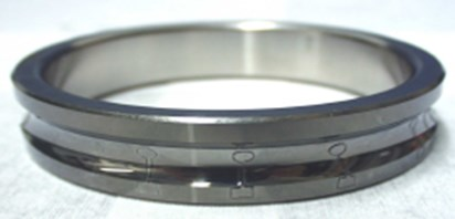 View of a sensor integrated with the surface of the inner race of a rolling bearing built according to the solution proposed by the Fraunhofer Institute in Braunschweig [6]