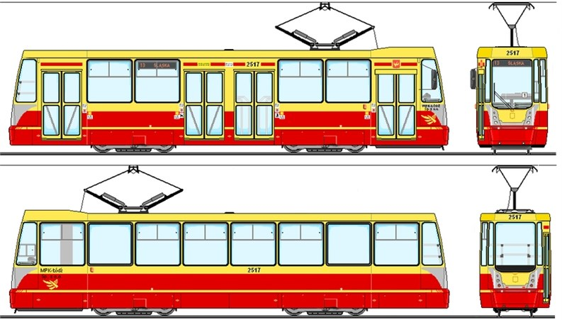 Tram vehicle 805N