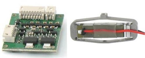 The drive electronics and multi-layers piezoelectrics, [31]