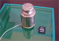 Cases of increased load capacity: a) piezoelectric ring 140 × 120 × 8 mm (D × d × h),  frequency – 80 kHz, voltage – 80 V; maximum weight of positioning object – 2 kg;  b) piezoelectric ring 40×10×2mm (D × d × h), frequency – 80 kHz, voltage – 50 V; maximum weight of positioning object – 500 g