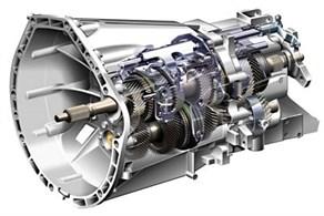 Schematic of gearbox