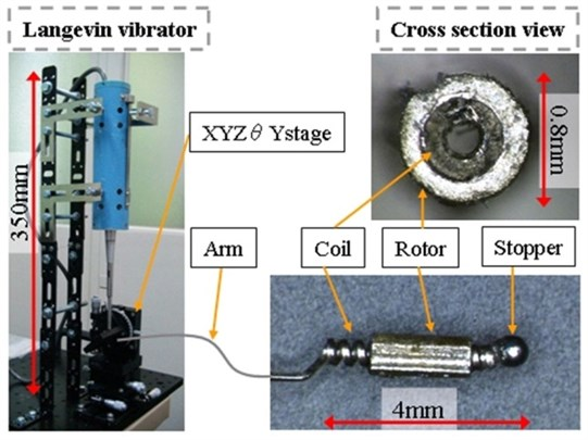 Composition of motor