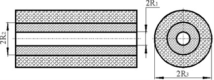 Electronic component coated by layer of compound
