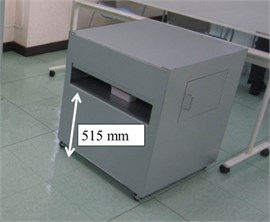 A pictorial marking in the experiment