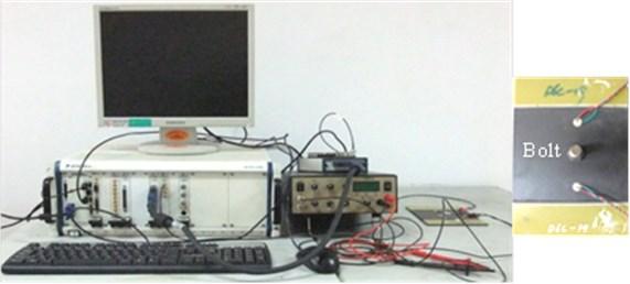 Experiment system and composite specimen