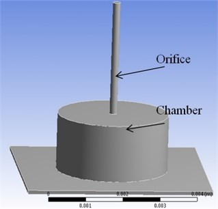 CFD model of the mixed levitation working stage