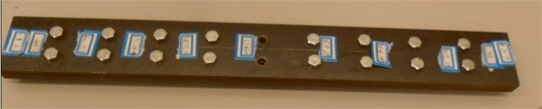 The composite beams for experiment