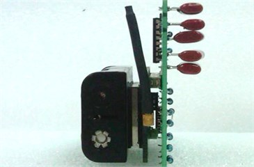 Illustration of orientation for accelerometer calibration