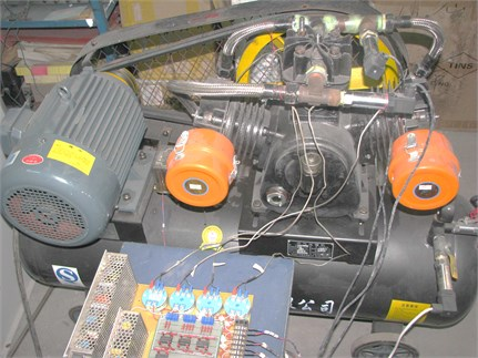 Reciprocating compressor test platform