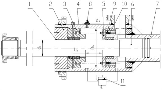 Structure and mechanical model of hydraulic damper