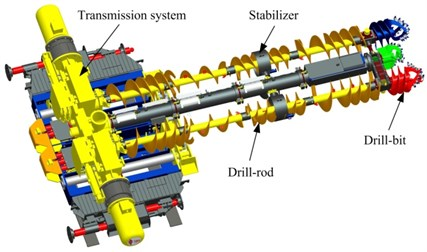 Structure of auger drill
