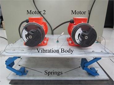 Self-synchronization vibration machine