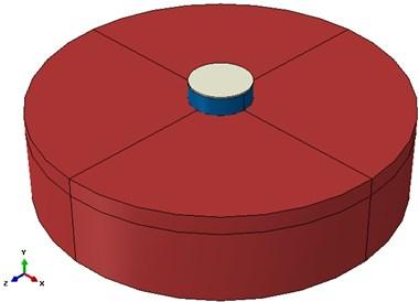 a) Circular tank 3D model and b) Cubic tank 3D model