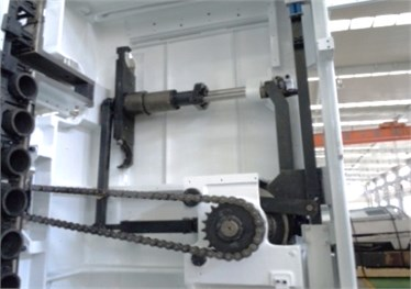 Structure of automation tool changer