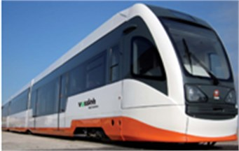 Tram-train vehicle VÖSSLOH-4100