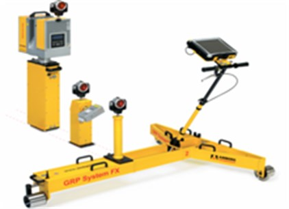 """Monitoring trolley """"GRP SYSTEM FX AMBERG"""""""