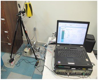 Bearing test set up