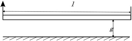 Schematic of an electrically actuated nano-beam