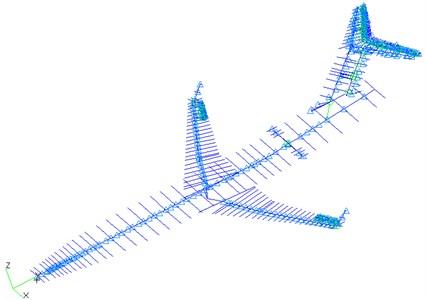 FEM model of airframe