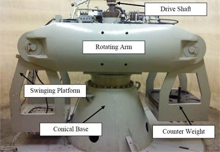 NUS geotecnical centrifuge