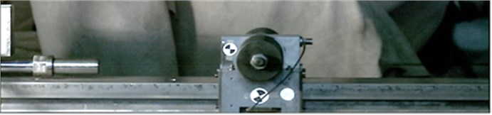 Picture of the experimental setup