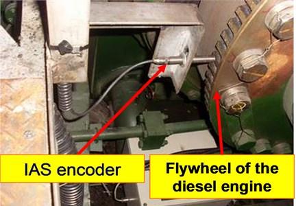 "The IAS signal acquisition device in ""Hangjun 20"" dredger"