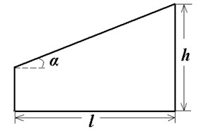 The computational domain and schematic diagram of a vortex generator