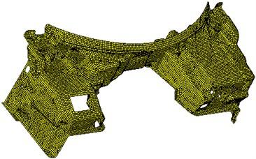 FE subsystem model