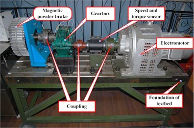Test-rig of gearbox