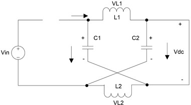 DC-link equivalent circuit of the Z-source converter