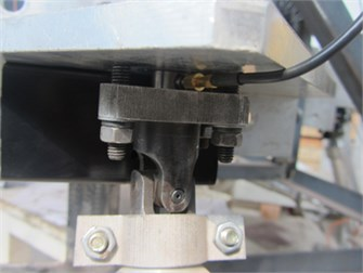 Force sensor on universal joint  on primary pillar