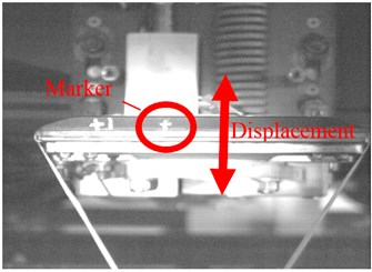 Image captured by industrial camera