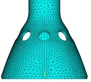 The finite element model of PSR