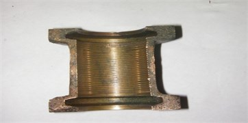 Bore fault on the bearing (Fault F1)