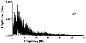 Input earthquake acceleration motion and spectrum in Songpan
