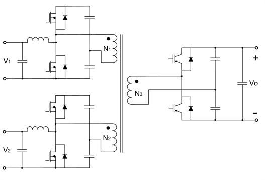Triple-half-bridge bidirectional DC-DC converter