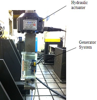 Experimental apparatus to verify  the electric characteristics
