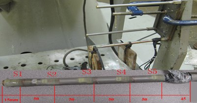 Strain gauges and calibration  of the model pile