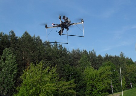 UAV used for Photogrammetry