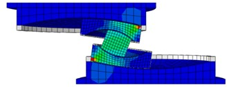 Sliding mechanisms of MSFI bearing with equal coefficient of friction