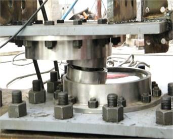 Testing photo of the MSFI bearing