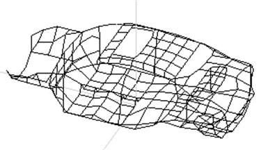 Geometric measuring point model of BIW