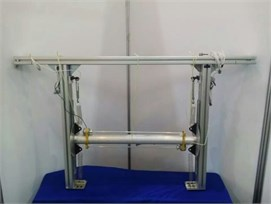 Experimental setup model for the system [12-13]