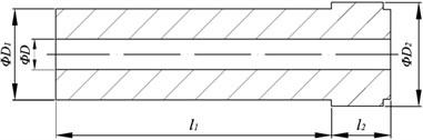 Structure diagram of sun-gear shaft