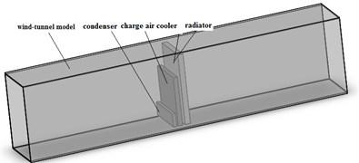Wind-tunnel model