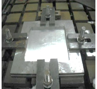Four-side fixation method in experiment