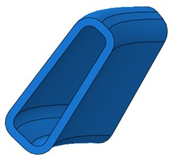 The diagram of fluid bag model