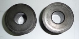 Graphite aerostatic radial and axial hybrid bearing