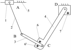 Structural diagrams of reposition metamorphic mechanisms