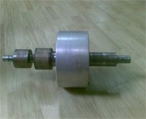 AMB high-speed flywheel energy storage system and its flywheel rotor